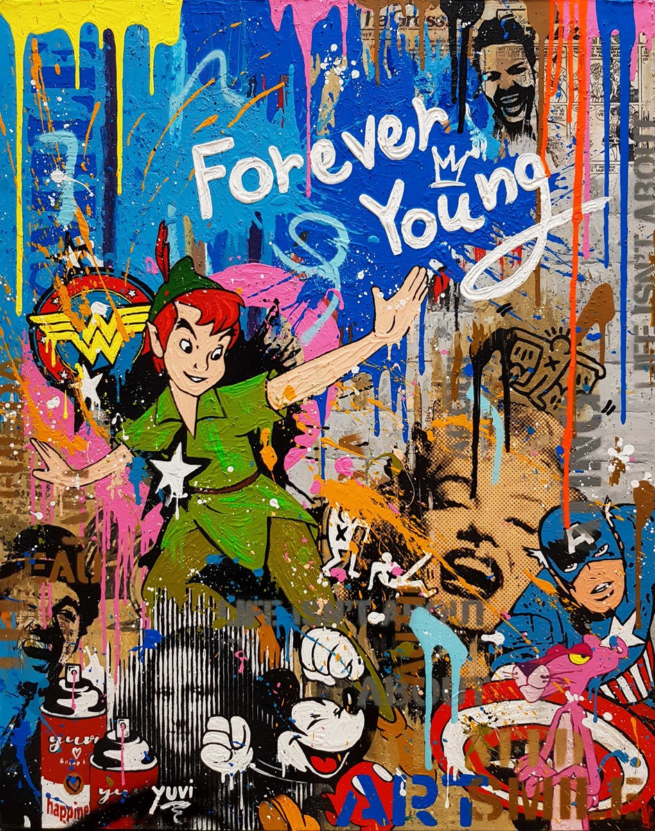 Forever Young by yuvi -  sized 24x30 inches. Available from Whitewall Galleries
